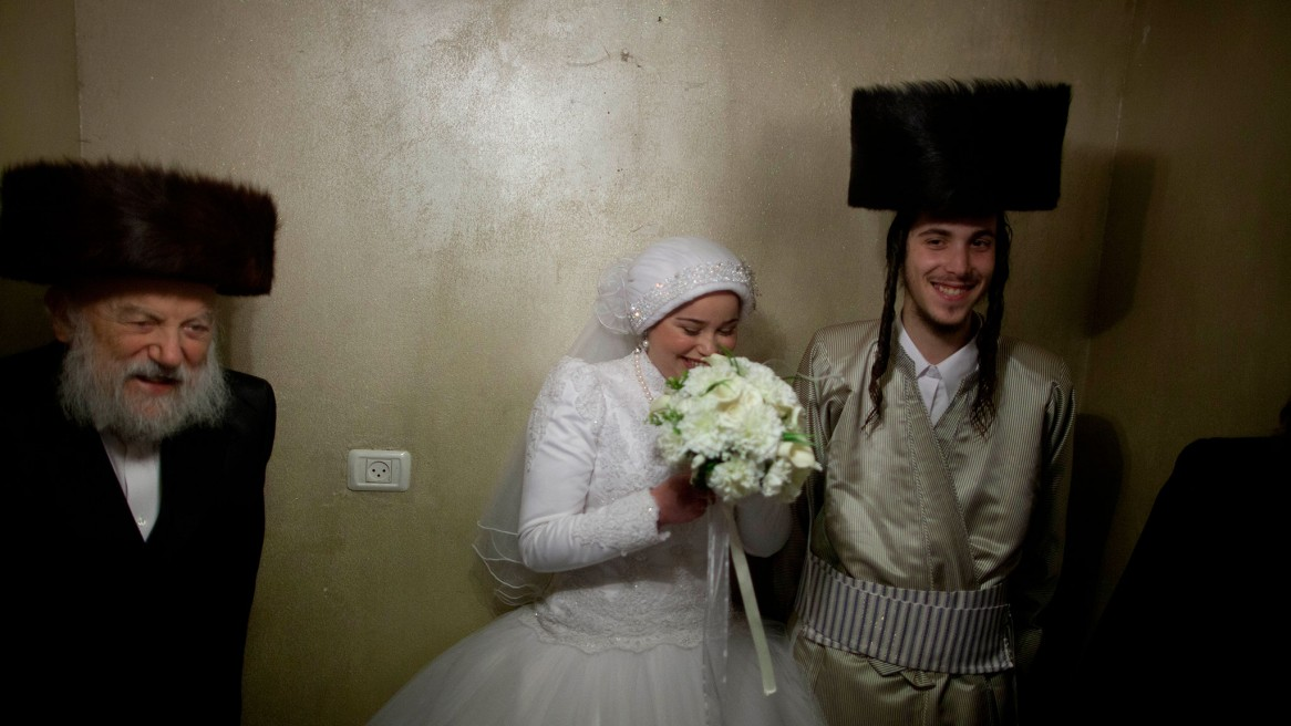 Ultra-Orthodox Jewish Wedding