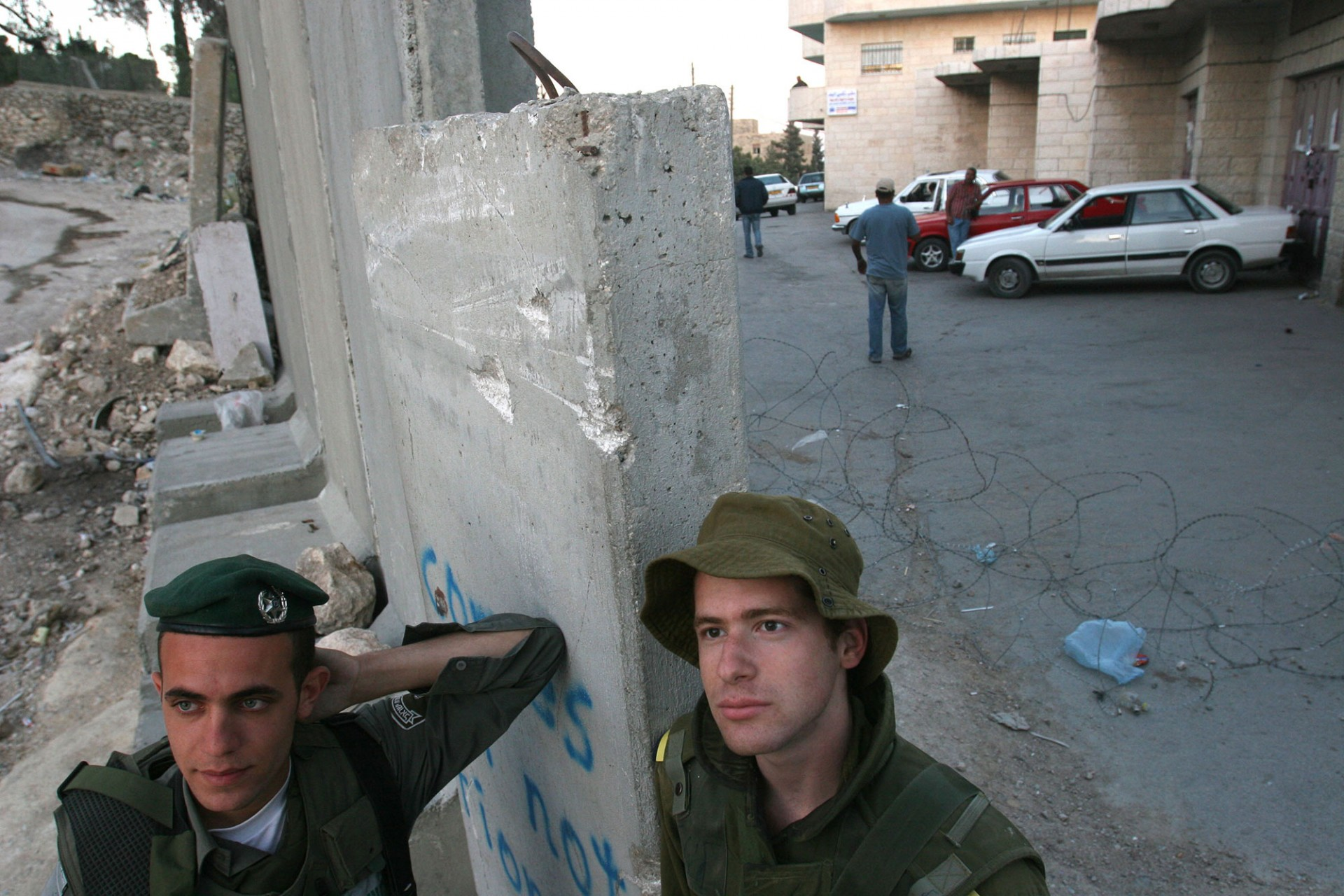 West Bank Village of Abu Dis, 2006