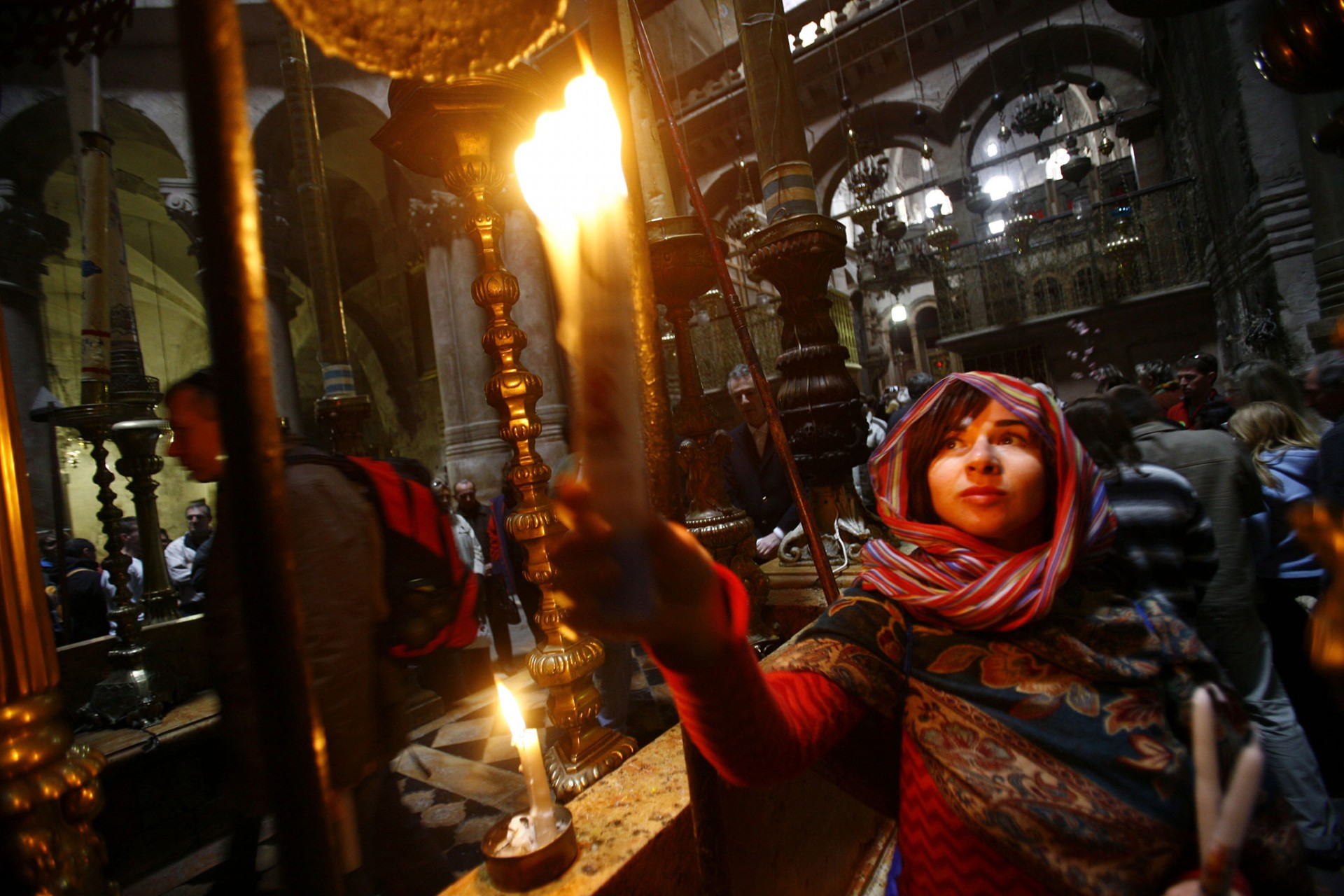 Church of the Holy Sepulchre, Jerusalem 2008