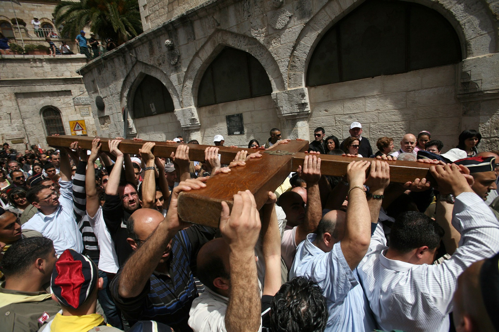 Good Friday, Jerusalem 2010