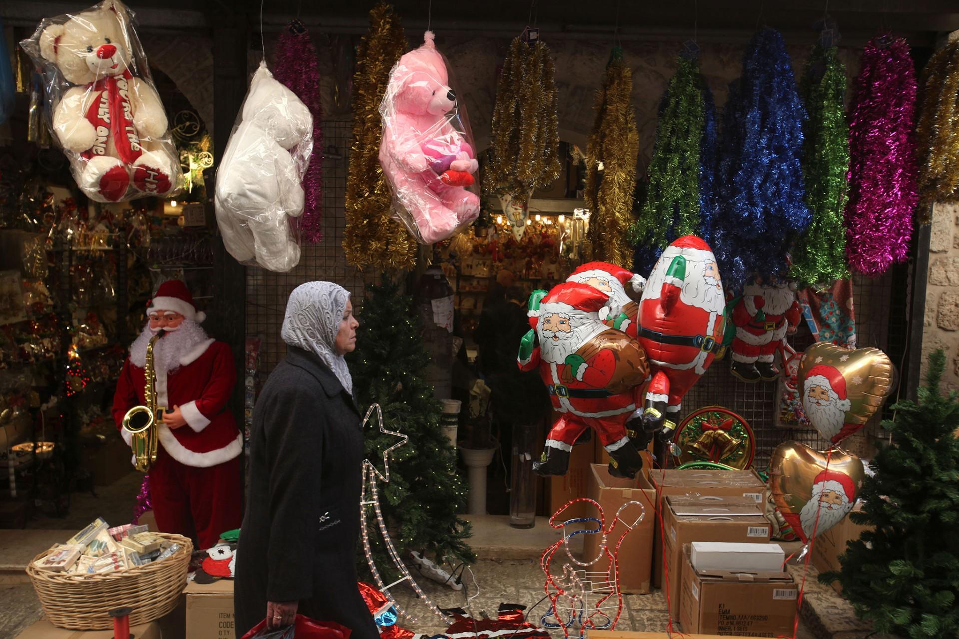 Christmas, Jerusalem 2010