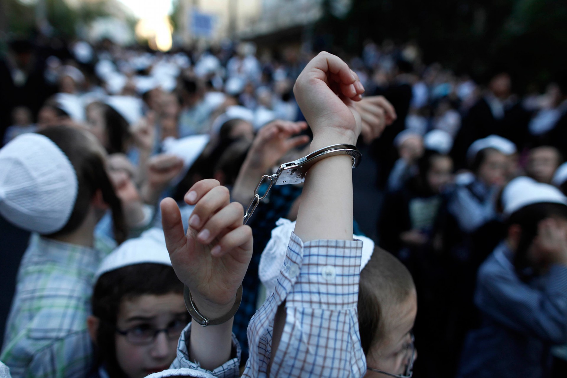 Demonstration Against Military Conscription In Israel, Jerusalem 2012