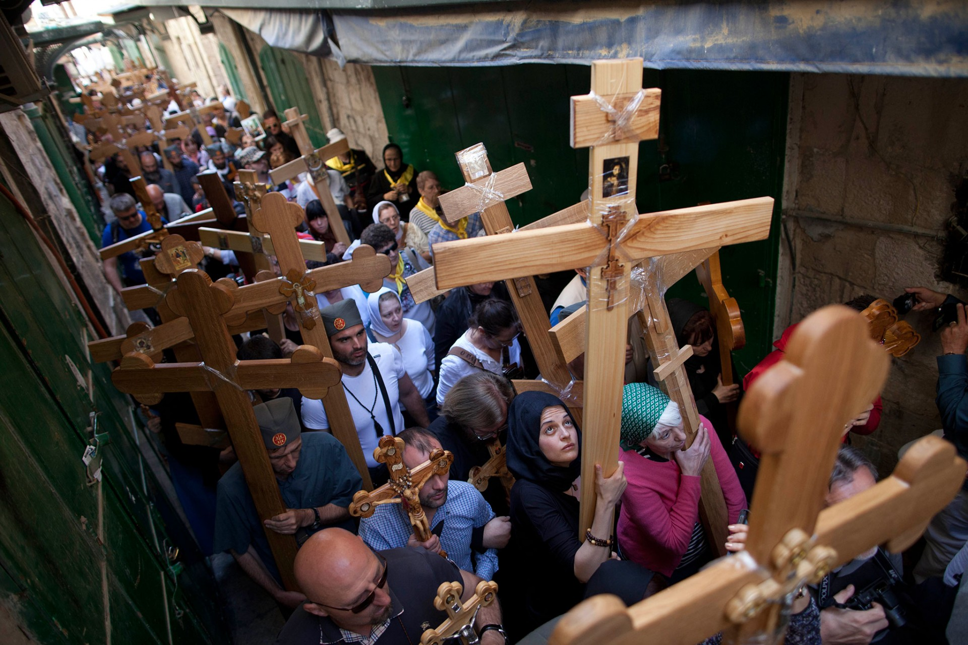 Good Friday, Jerusalem 2014