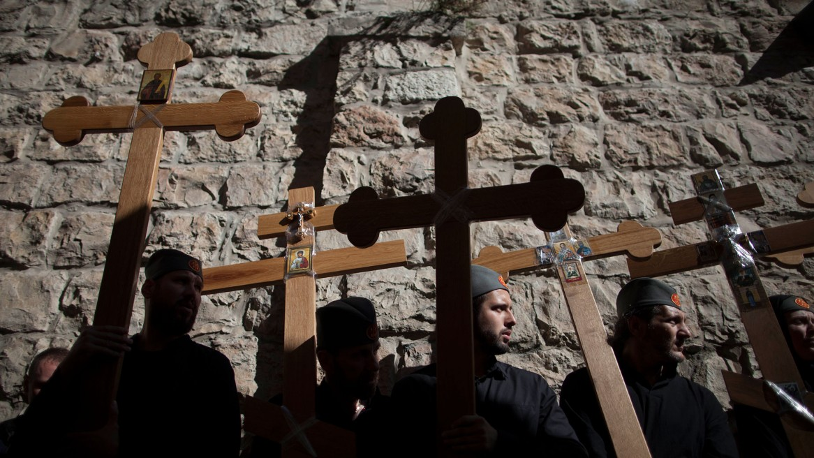 Christians in the Holy Land