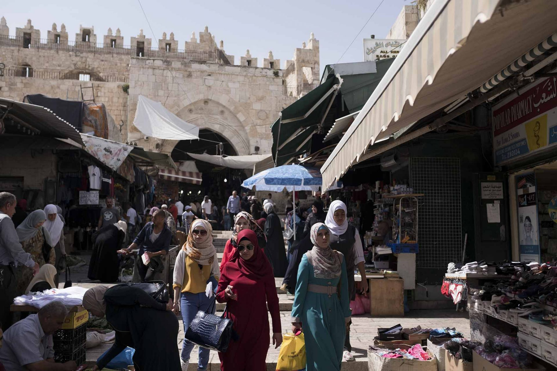 Daily Life in the city of Jerusalem ahead of Jerusalem Day