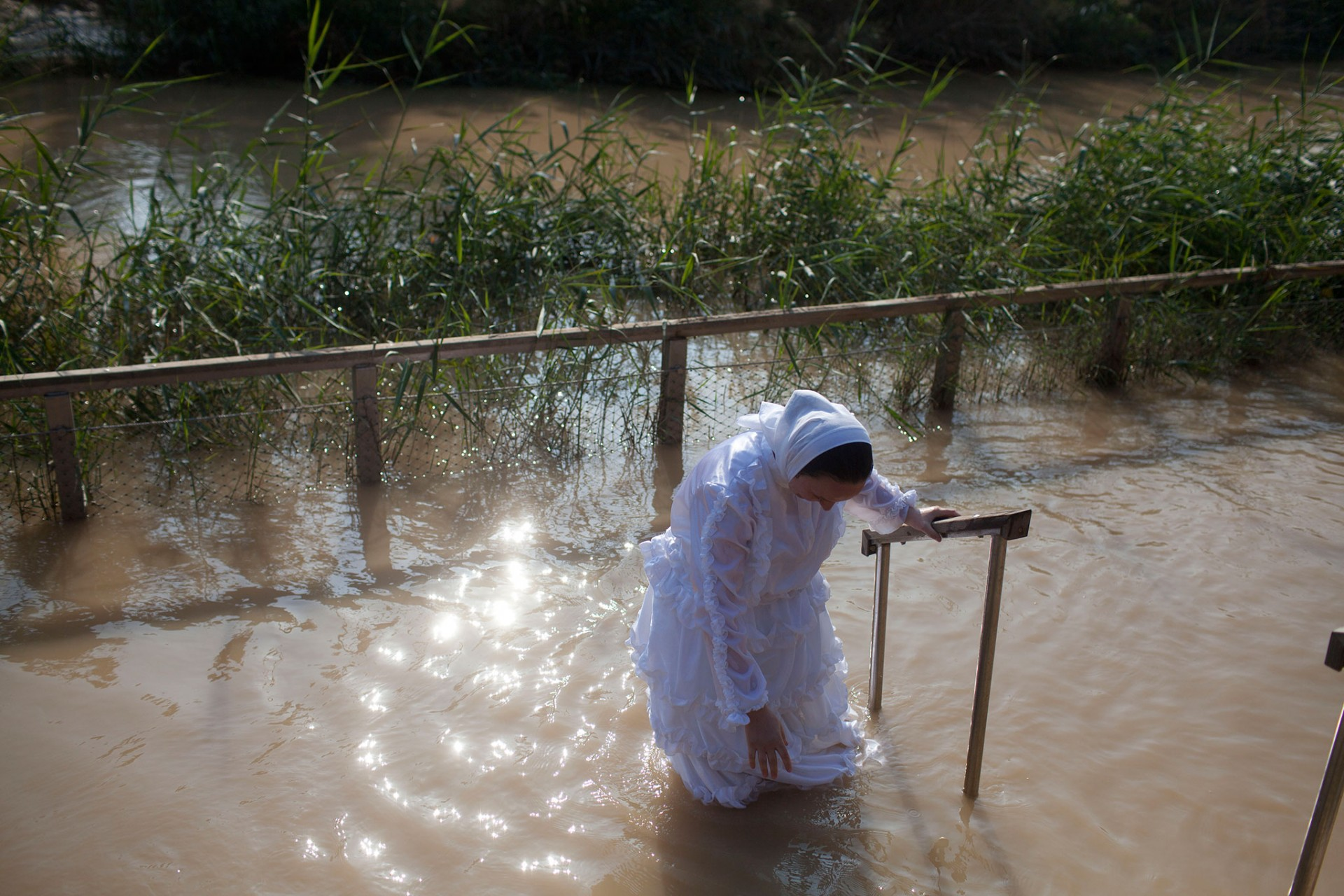 Epiphany celebrations in the Jordan River, Qasir al-Yahud 2015