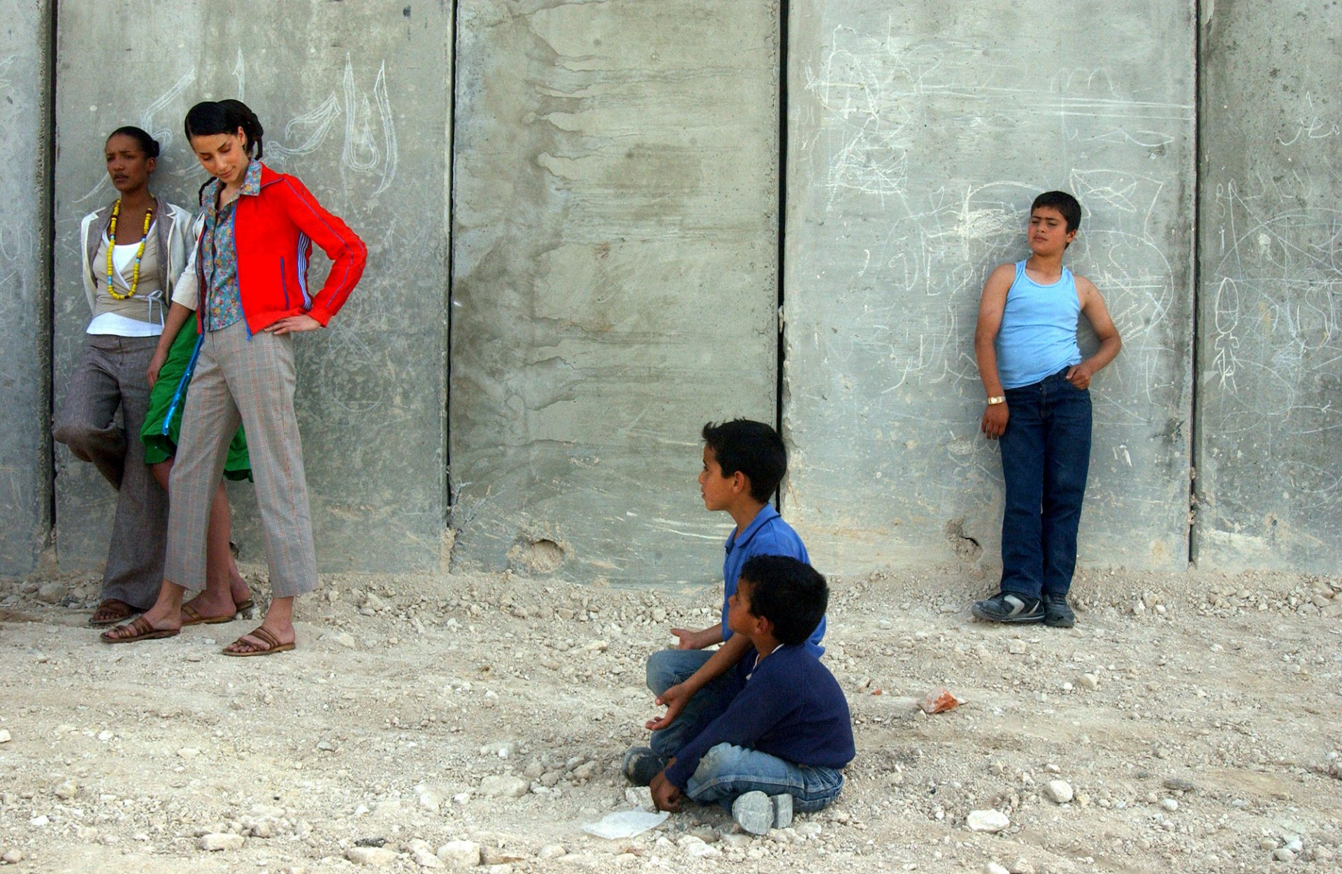 East Jerusalem neighborhood of Atur, 2004