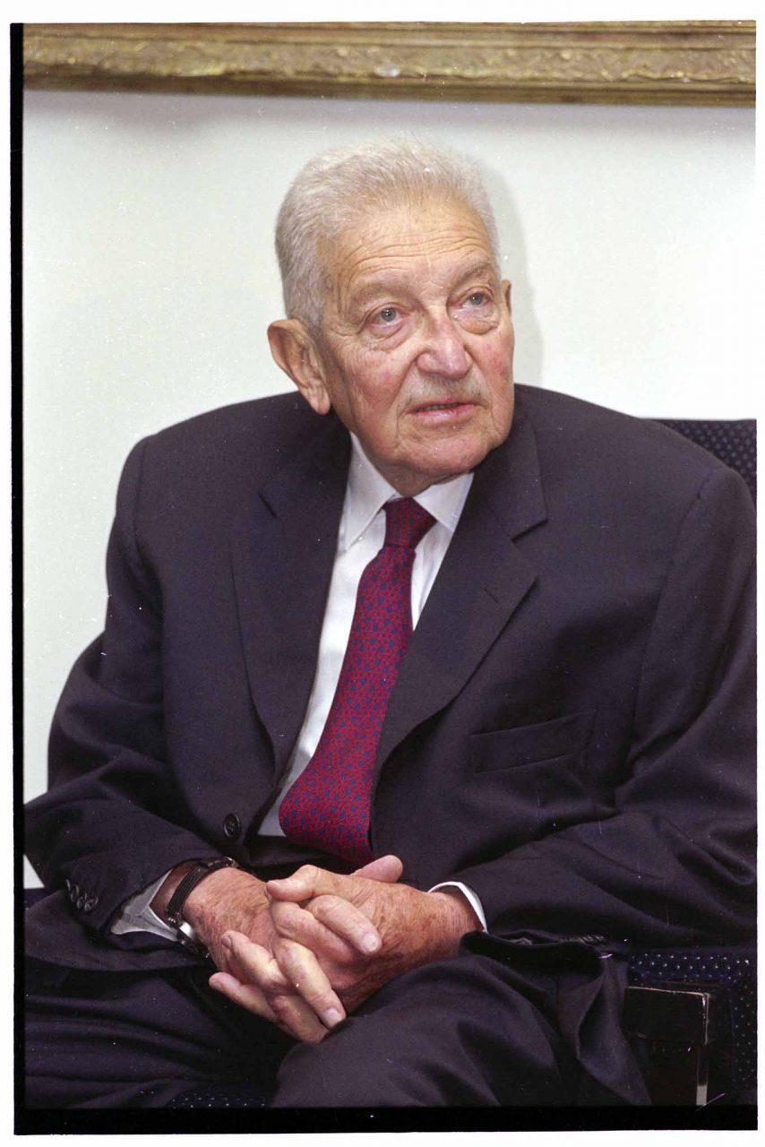 Ezer Weizman 2000