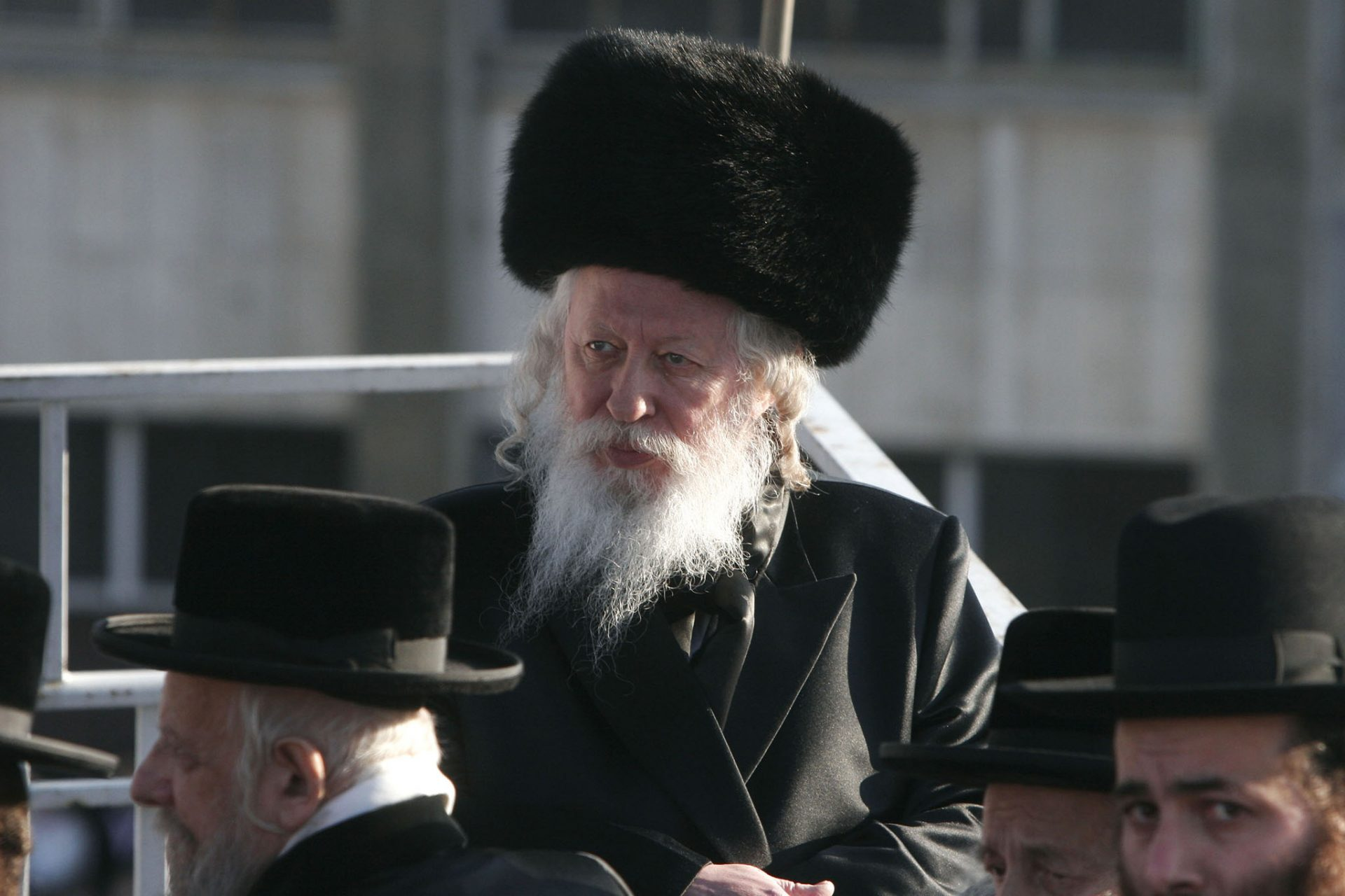 Chief rabbi of the Gur sect Yaakov Arie Alter 2006