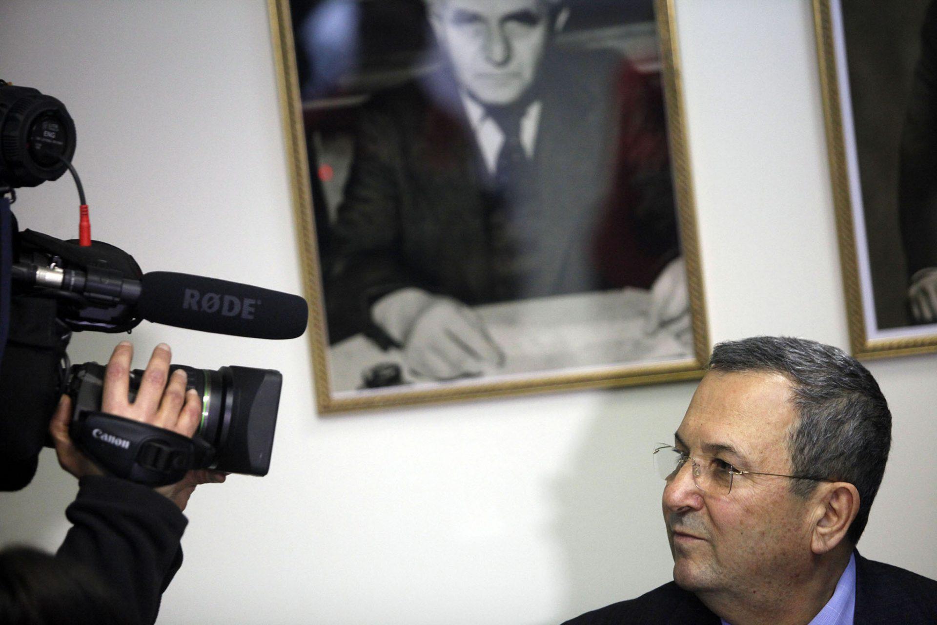Ehud Barak 2012