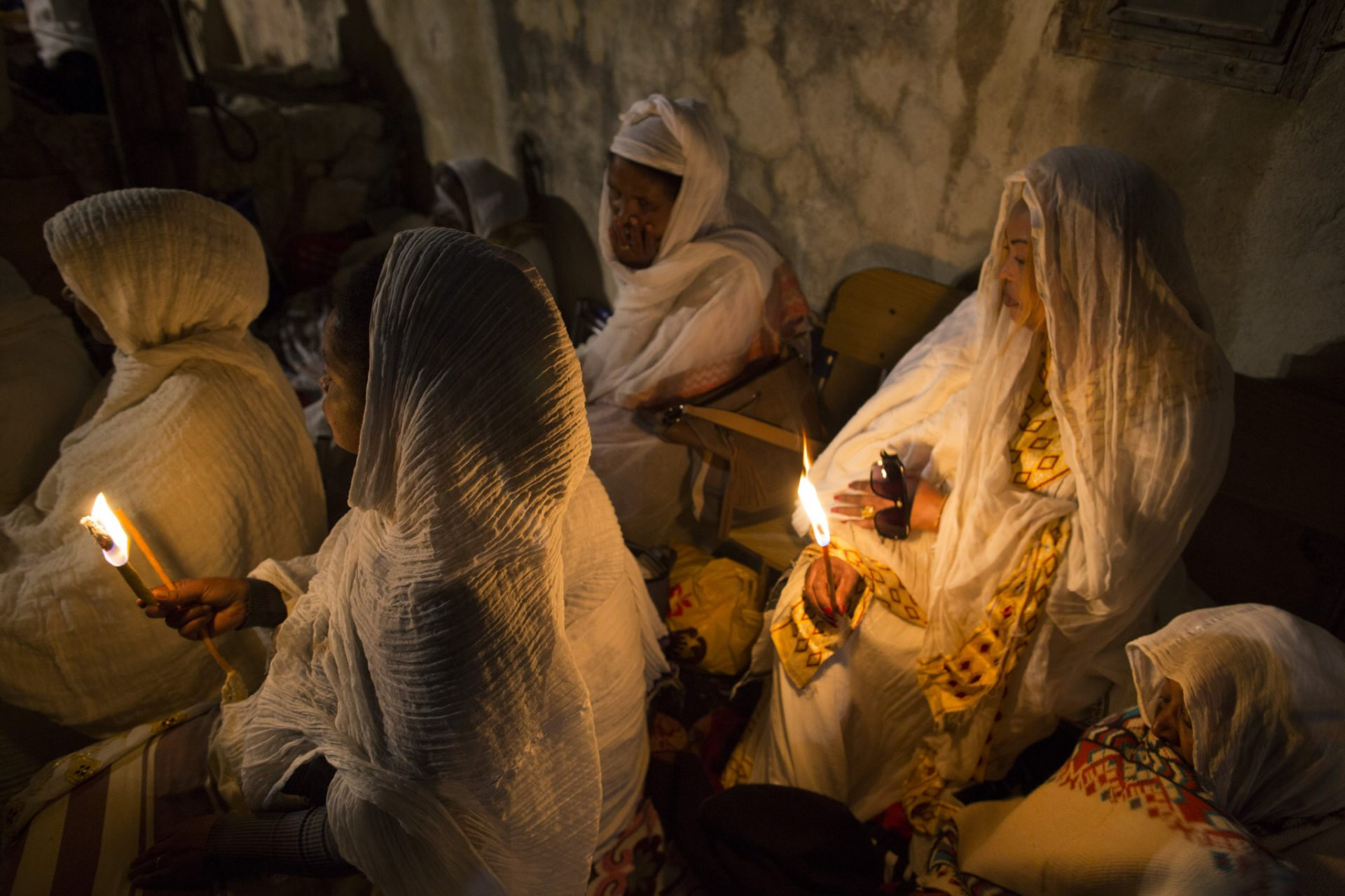 Ethiopian Orthodox Christians Celebrate Easter