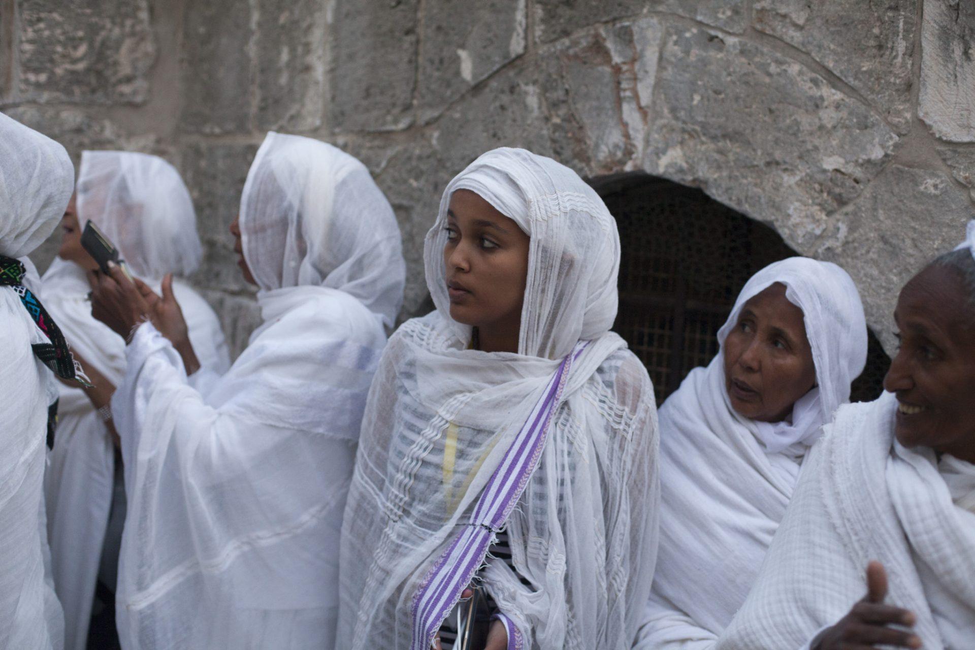 Ethiopian Orthodox Christians Celebrate Easter